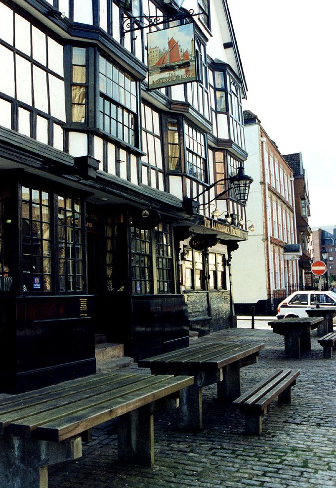 The Llandoger Trow in Bristol.