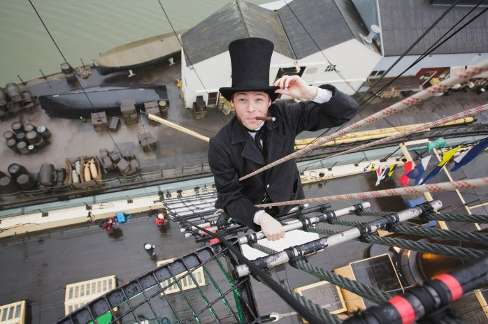 ©Brunel's ss Great Britain in Bristol.