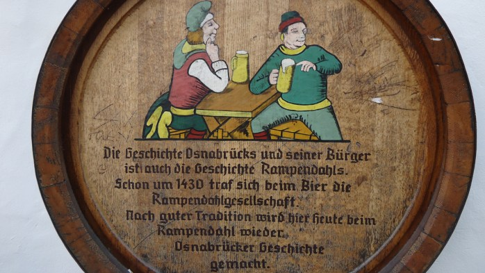 The most famous Rampendahl brewery in Osnabrück, Germany.