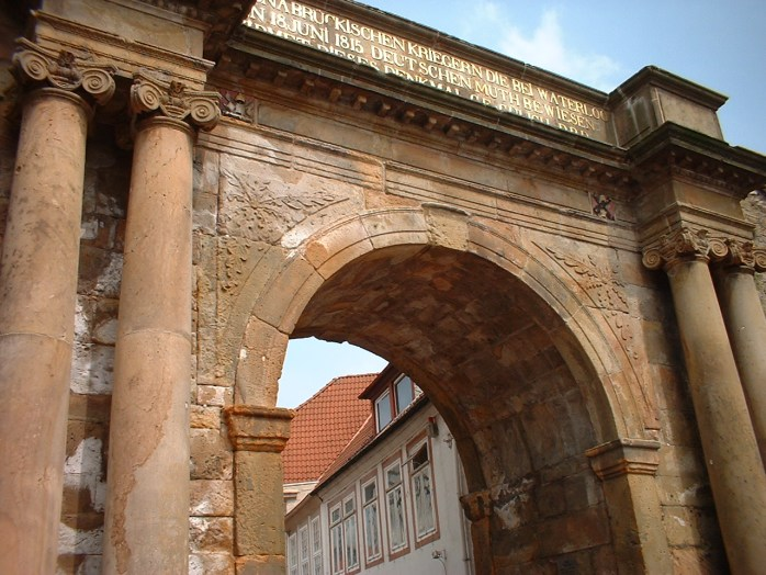 The Heger Tor, otherwise known as the Waterloo Gate in Osnabrück, Germany.