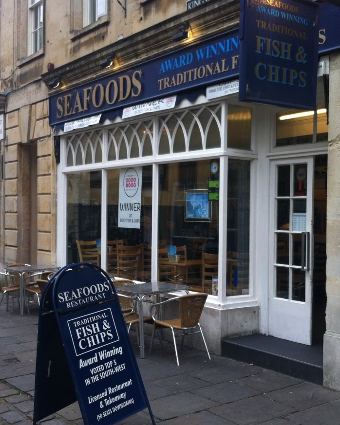 Grab yourself some English fish n'chips!