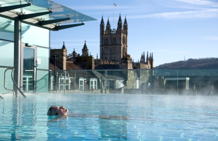 Take a bath in Bath! ©VisitBritain Jon Spaull