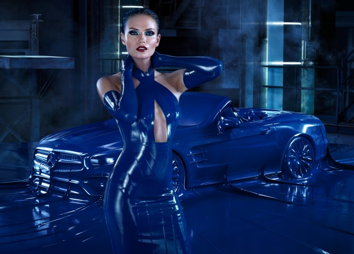 Natasha Poly. Mercedes-Benz Fashion campaign – Autumn/Winter 2016
