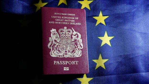 A British passport will still be valid as a document. @Reuters