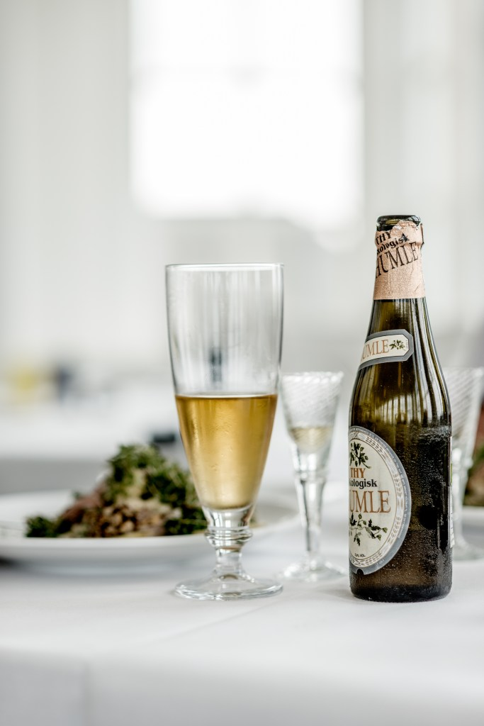 Drinks such as Danish organic craft beer! ©Mette Johnsen