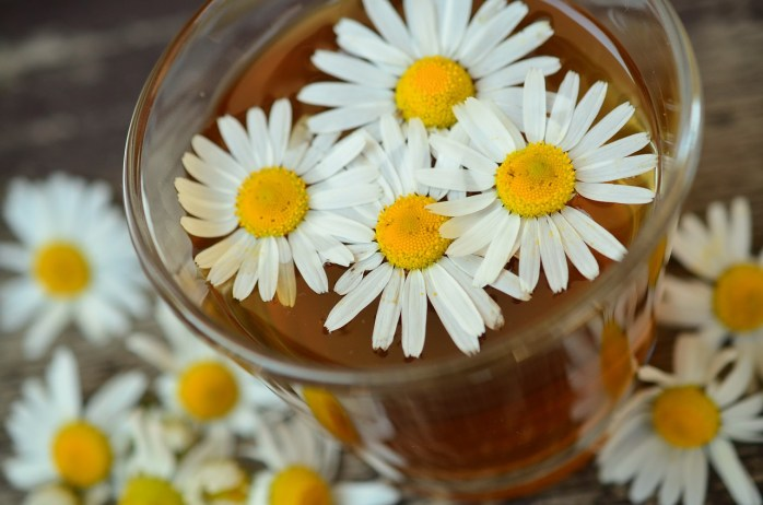Herbs and spices such as chamomile!