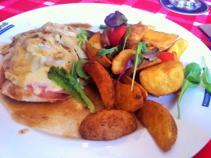 The Vychodniarsky Rezen is an Eastern Slovak schnitzel!