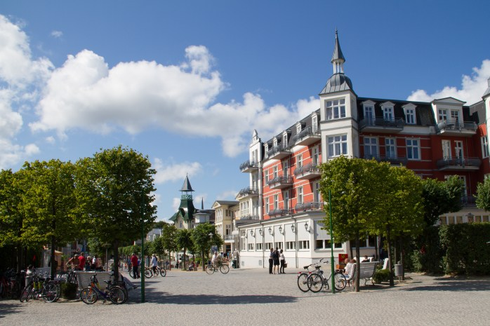 At the promenade in Zinnowitz, Usedom. ©Usedom Tourismus GmbH