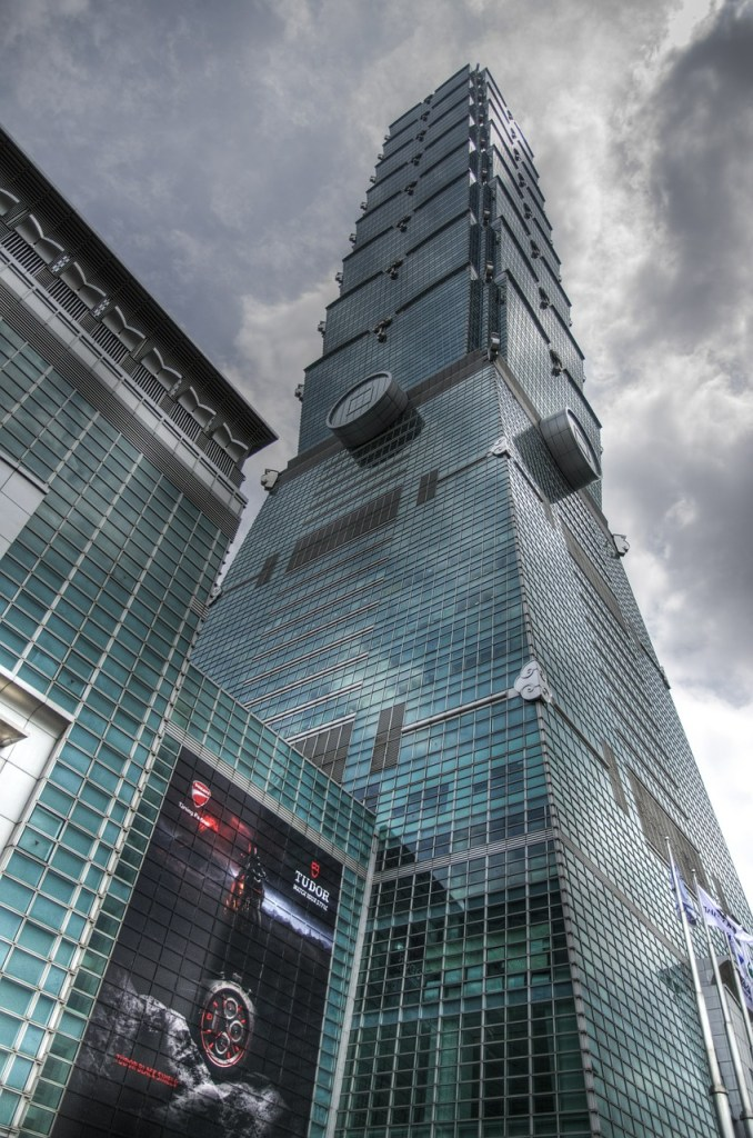 Taipei 101 Observatory - The world's tallest building in 2004!