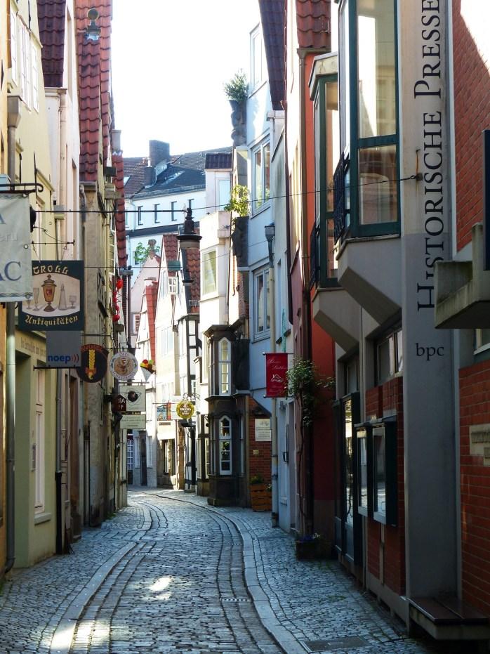 One of the highlights of Bremen is Schnoor!