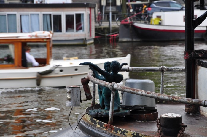 How to visit Amsterdam in two days. With a teenager - Take a boat tour on the river!