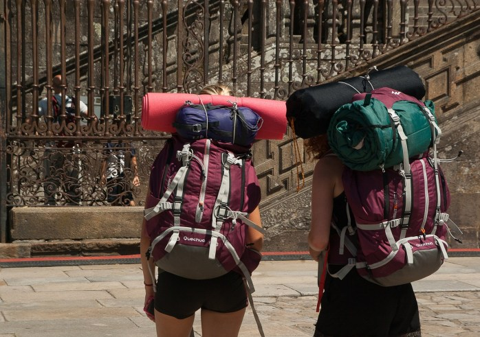 Get yourself a backpack for motivation, work hard, then take a gap year!