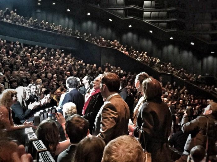 Es war einmal in Deutschland; Bye Bye Germany; crowds; people; lots of people; a packed house; Dieter Kosslick; actors; performers; audience; punters; local people; Berliners; visitors; people at the Berlinale;; customers; audience; cinema-goers; Berlinale Goes Kiez; Kiez; Berlinale; 70th Berlinale; Berlin International Film Festival; Internationale Filmfestspiele Berlin; International Film Festival; Film Festival; film; films; movies; festival; Berlin Films; Berlin; Germany