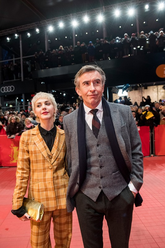 Laura Hajek & the hilarious Steve Coogan at the Berlinale. ©Berlinale