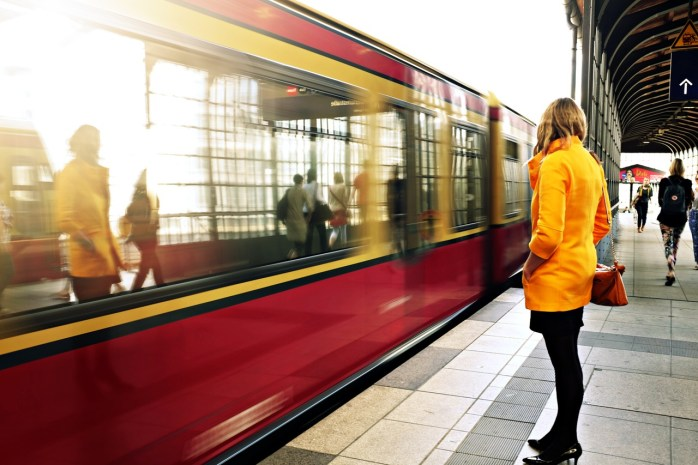 Take the Ring Train S41 or S42 to the ITB Berlin!