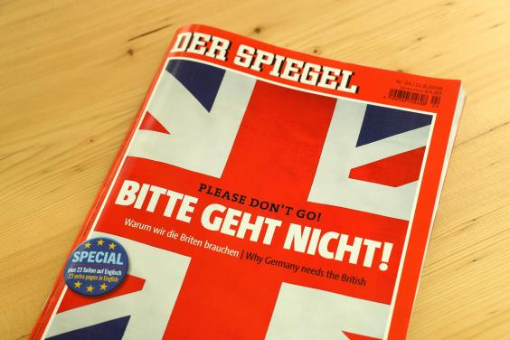 Brexit. Please don't go! ©Der Spiegel - Getty Images.
