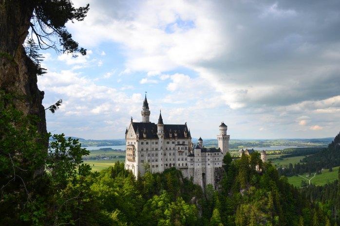 Neuschwanstein Castle; Schloss Neuschwanstein; castle; Schloss; Schwangau; Bavaria; Bayern; Germany; German; European; Europe; travel;