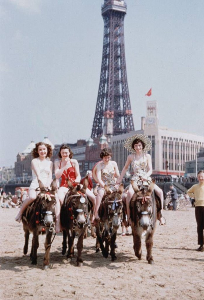 Have you ever been to Blackpool - Britain's version of Las Vegas - OMG!