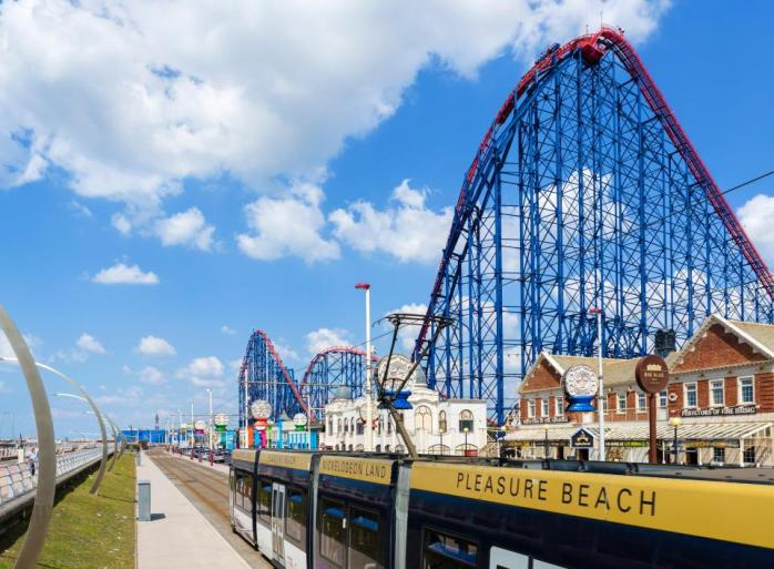 When it opened, The Big One was the tallest and fastest roller coaster in the world!
