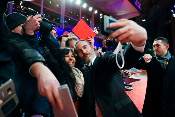 Joaquin Phoenix at the Berlinale - The Berlin International Film Festival - Competition - Don't Worry, He Won't Get Far on Foot 2018 © Internationale Filmfestspiele Berlin