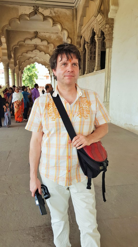 The Music Producer in Agra, India