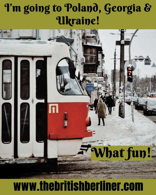 I'm going to Poland, Georgia & Ukraine – What fun; tram; transport; In Lviv; In Kiev; in Kyiv; Ukraine; the Ukraine; Ukranian; Europe; European; Eastern Europe; travel; family travel; solo travel;