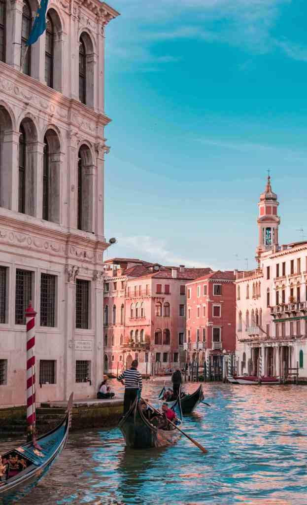 Venice; Venezia; Venician; gondola: Italian gondolas; Venice canals; canals; Italy; Italian; Europe; European; travel; family travel; solo travel;
