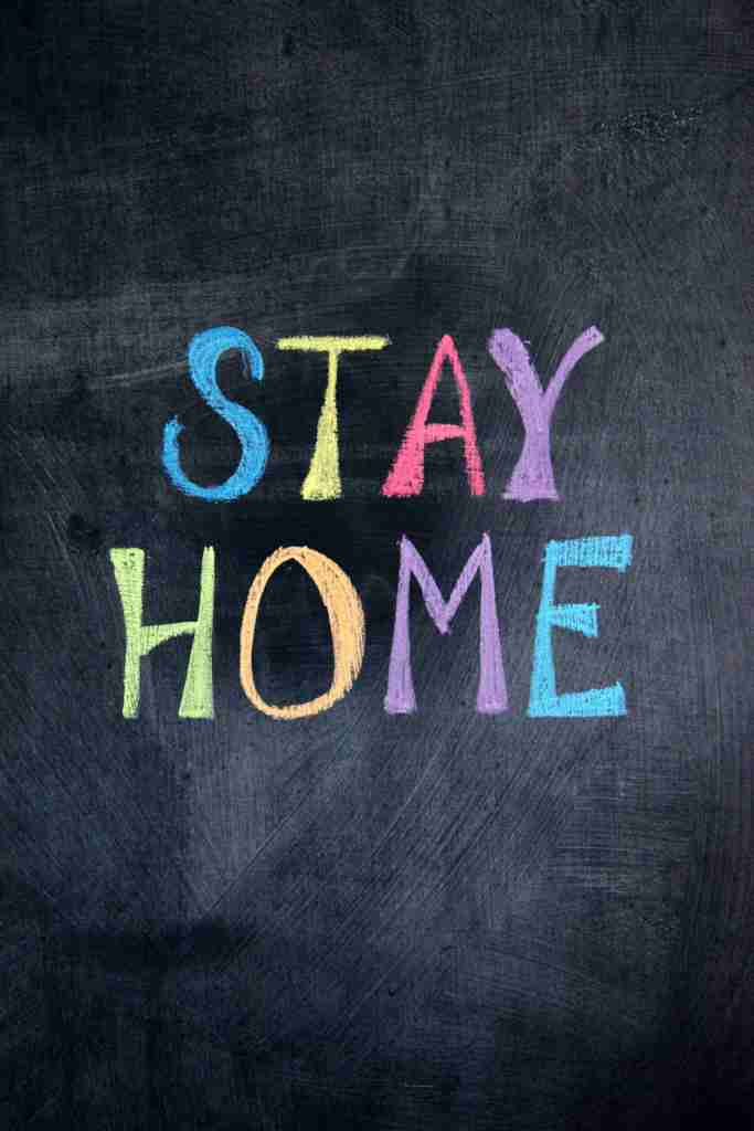 stay home; stay at home; just stay home; confinement; isolation; self-isolation; isolate; quarantine; home; house; bedroom; room; keep your distance; don't travel; flatten the curve; social distancing; safer at home; shelter in place;
