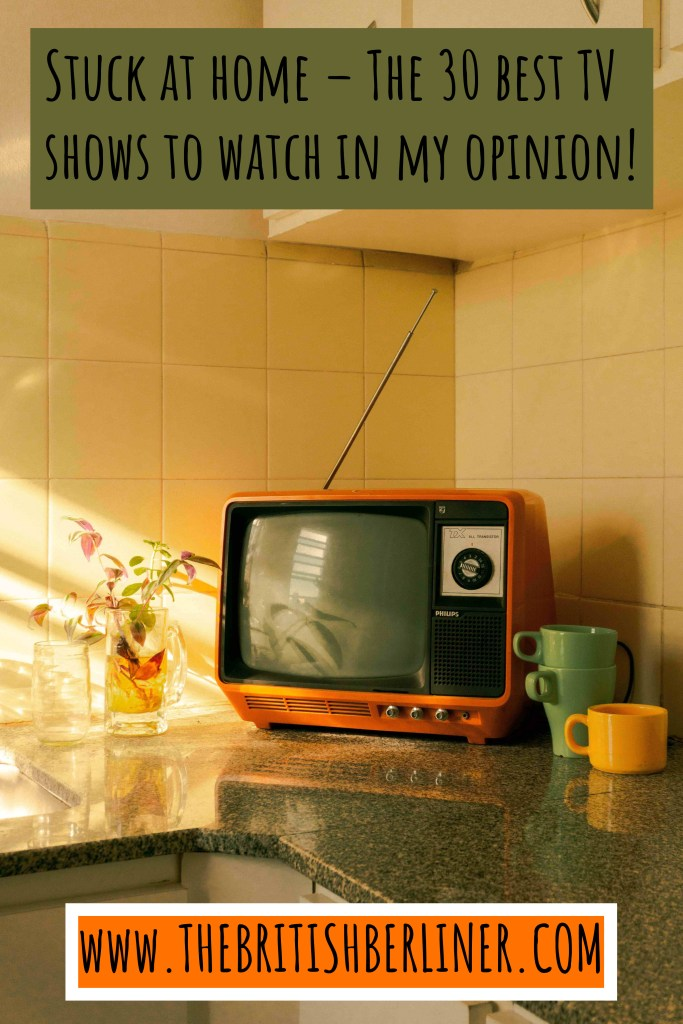 TV; television; TV set; retro TV; TV in the kitchen; TV in kitchen; watch TV; old TV; orange TV; kitchen; cups; crockery; household; household utensils; kitchen utensils; retro design; vintage style; home; house; retro room; retro furnishings; vintage; vintage TV; stay home; stay at home; keep your distance; don't travel; flatten the curve; social distancing; safer at home; shelter in place;