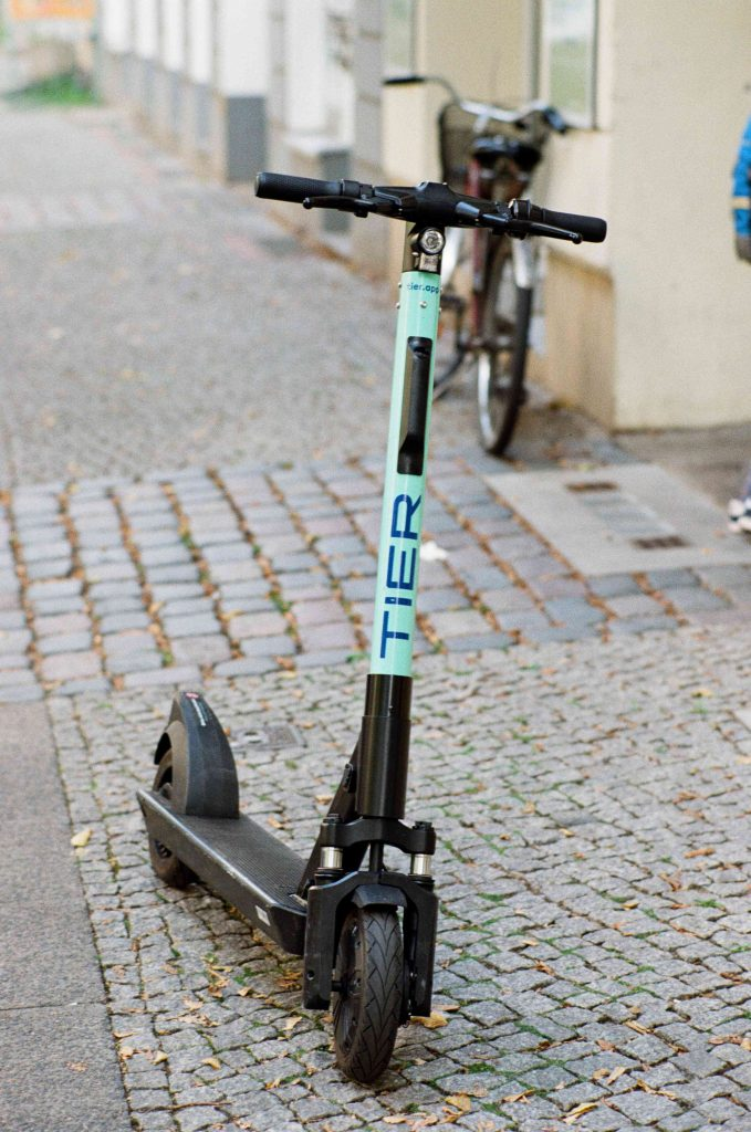 scooter; Tier; Tier scooter; local transport; explore; green energy; Berlin; Germany; German; European; Europe; travel;