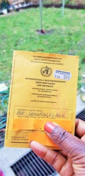 Victoria Ade-Genschow; The British Berliner; International Certificate of Vaccination; Certificate of Vaccination; Vaccination Certificate; yellow certificate; yellow book; yellow card; yellow vaccination book; vaccination book; vaccination card; vaccine certificate; vaccination passport; Corona; Coronavirus; Corona Virus; Zusammen Gegen Corona; coronavirus vaccination; coronavirus vaccine; coronavirus vaccine guide; COVID-19, COVID19; vaccination; vaccine; vaccine guide; coronavirus vaccination guide; coronavirus vaccination guide for Berlin Expats; coronavirus vaccination guide for Expat Berliners; coronavirus vaccine guide for Berlin Expats; coronavirus vaccine guide for Expat Berliners; virus; virus infection; global pandemic; global infection; global virus; Berlin Expat; Berlin guide; expat; Expat Berlin; expat life; expat guide; expat tips; British expat; British expat in Berlin; This is my Berlin; Berlin; Germany; travel;