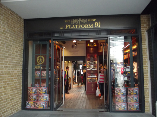 Image result for kings cross platform 9 3/4 shop