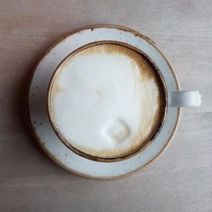 The perfect flat white...