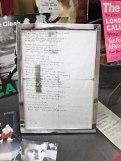 """""""Guns of Brixton"""" scritta a mano da Simonon"""