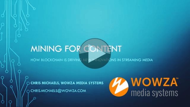 Wowza Media Systems – The Broadcast Knowledge