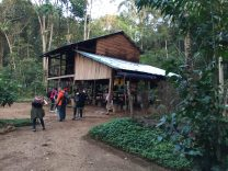 A ranger station inside the jungle, the second time I thought that we would stay here.