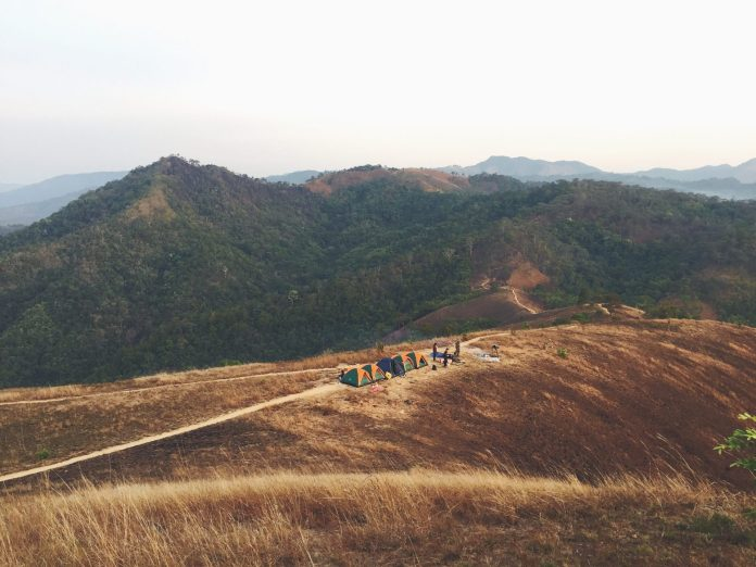 Ta Nang - Phan Dung camping site, one of the most beautiful routes for a Vietnam trekking