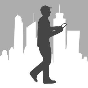 GPSMyCity travel app logo