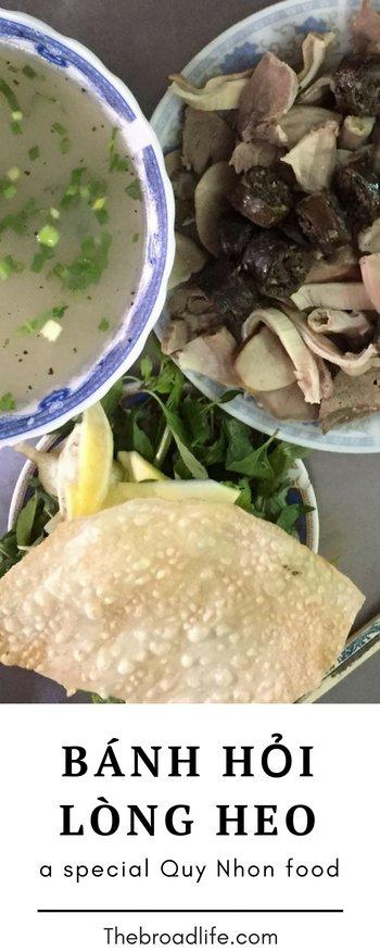 Bánh hỏi lòng heo - special Quy Nhon food