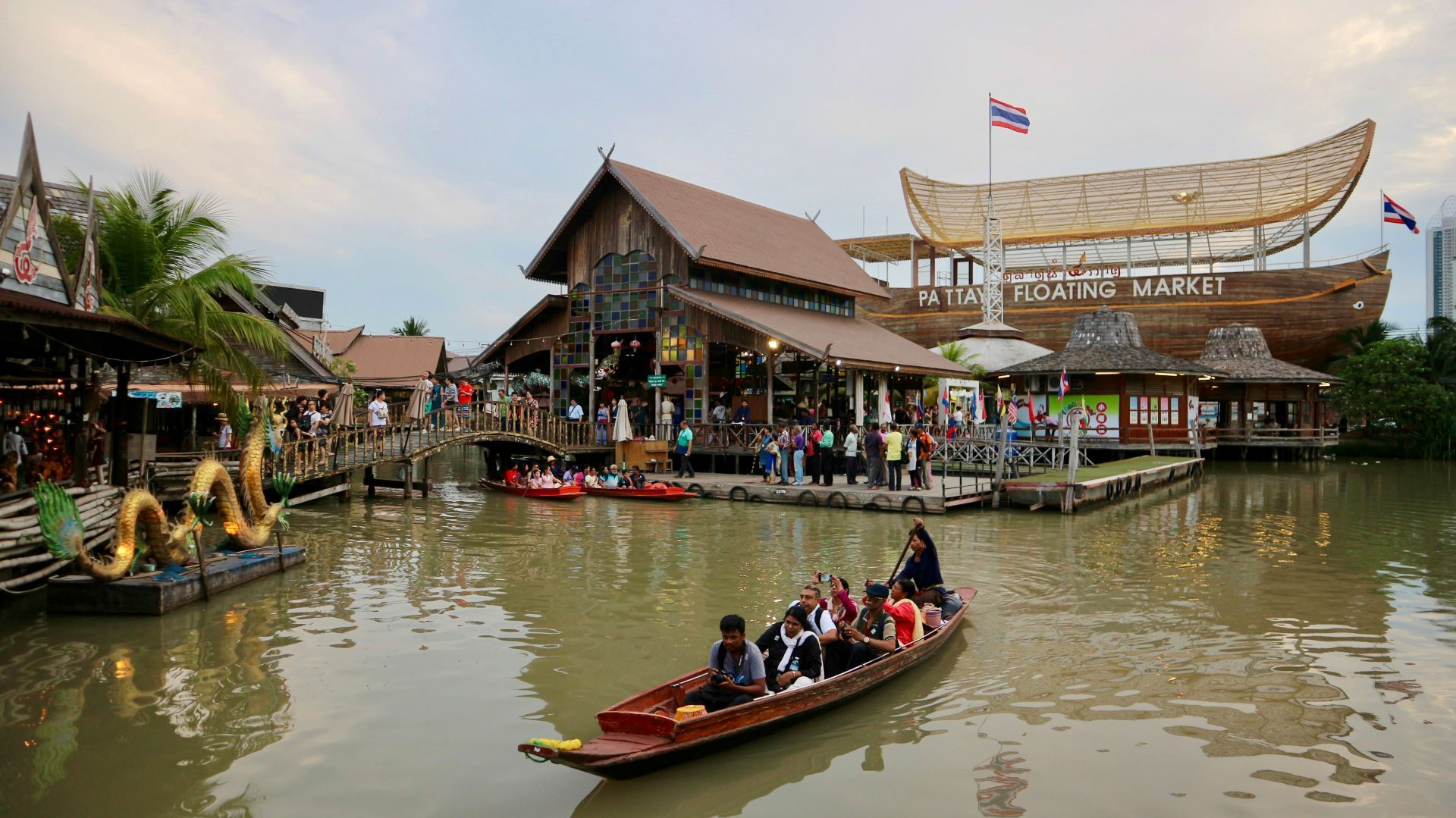 Pattaya Floating Market, another destination in my third day of Bangkok and Pattaya trip.