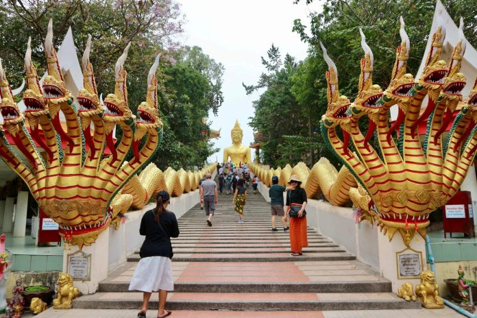 Wat Phra Khao Yai, the Big Buddha Hill that I visited on my Bangkok and Pattaya trip.