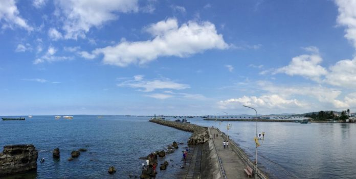 The view from Dinh Cau Apex, Phu Quoc Island, Vietnam