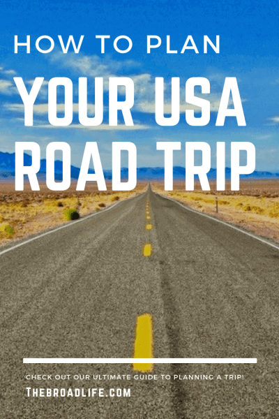 Pinterest Board of The Broad Life's post 'How to plan your USA road trip'