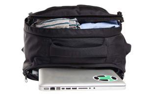 Inside Tortuga Travel Backpack