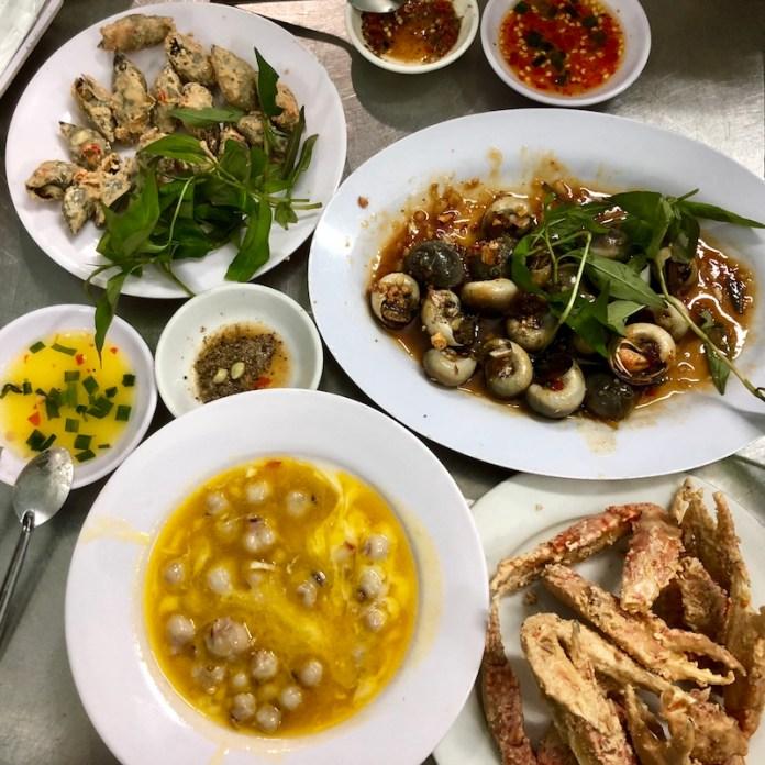 Ốc Khánh, Oc, Saigon dish, Vietnamese cuisine