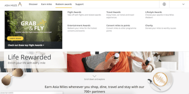 Asia Miles Rewards Program The Broad Life travel hacks on finding cheap flights