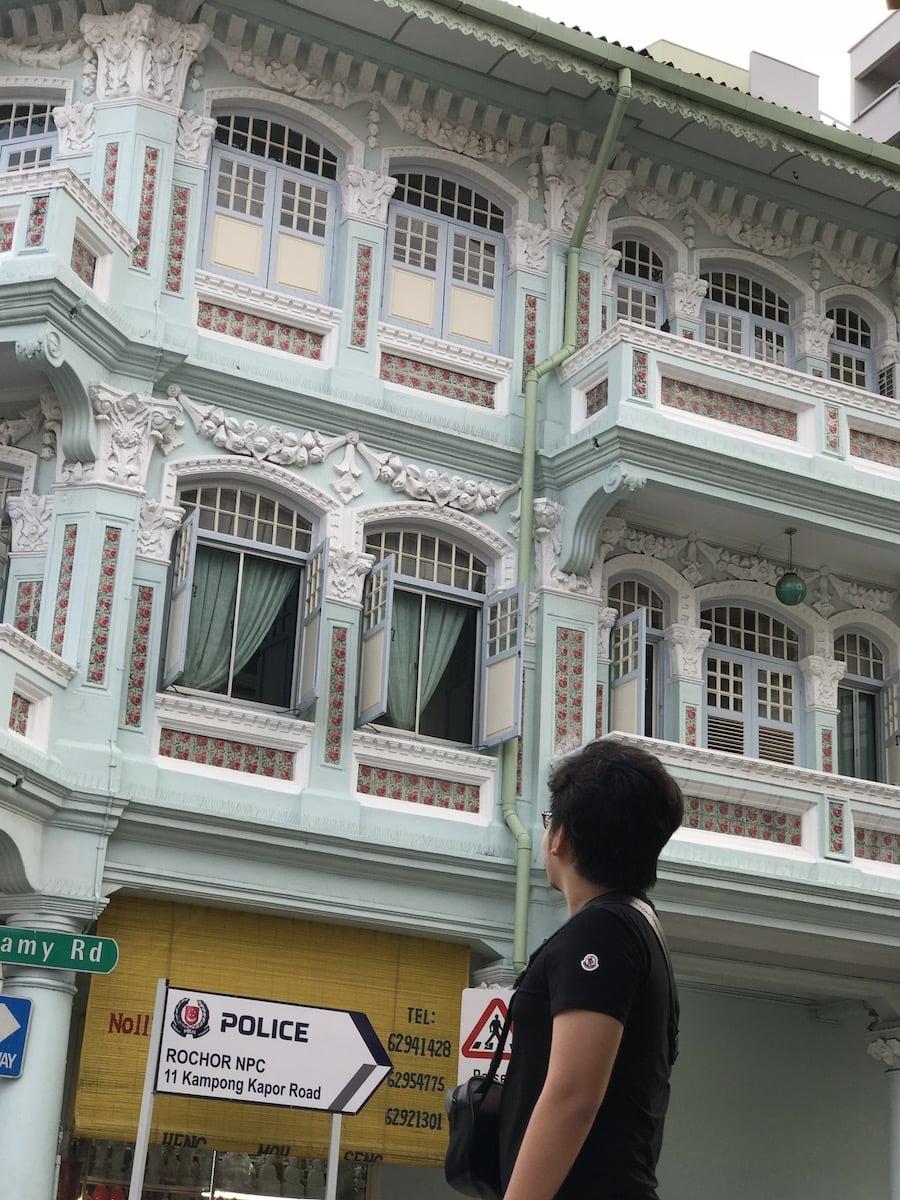 Wondering around china town Singapore