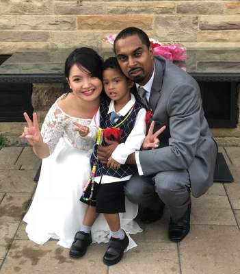 my sister family in canada