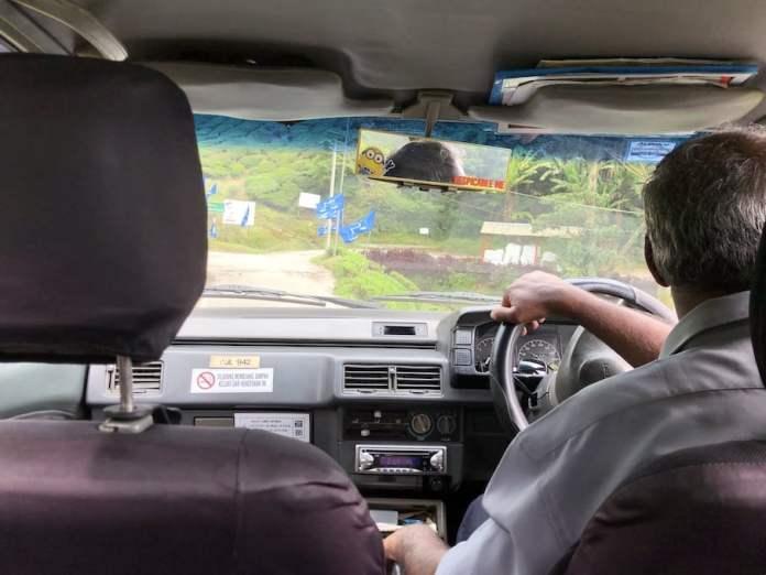 Taxi at Cameron Highlands, Malaysia