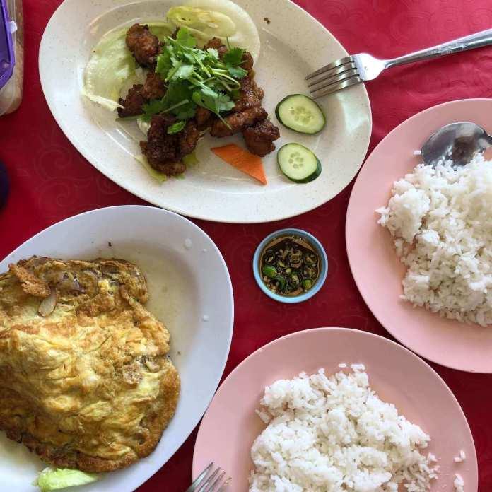 Chinese cuisine at Brinchang, Cameron Highlands, Malaysia